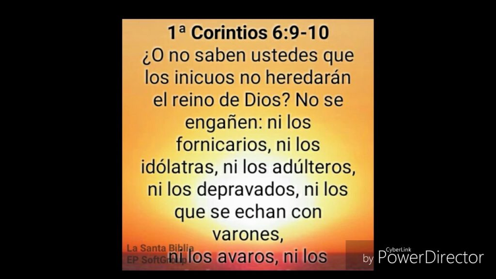 1 Corintios 6 Versos Biblicos