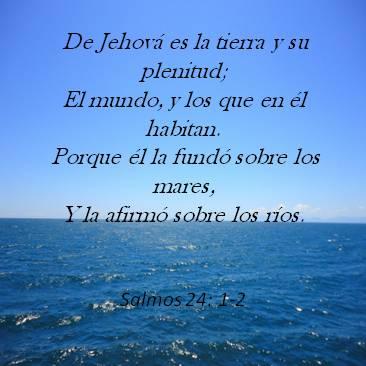 Salmos 24 Versos Biblicos